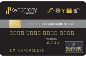 Financing Available - Synchrony